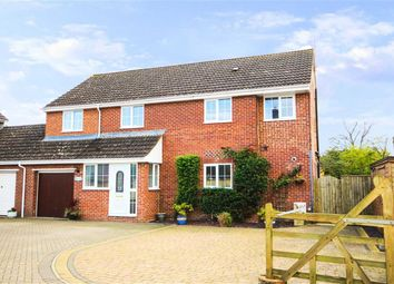 Thumbnail 4 bed link-detached house for sale in Calne Road, Lyneham, Wiltshire