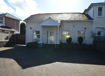 Thumbnail 2 bed semi-detached house for sale in Cary Park, Torquay