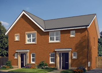 "Thumbnail 3 bed semi-detached house for sale in ""The Hamilton"" at Edinburgh Road, Newhouse, Motherwell"