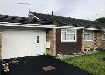 Thumbnail 2 bedroom semi-detached bungalow to rent in Chilmark Road, Trowbridge