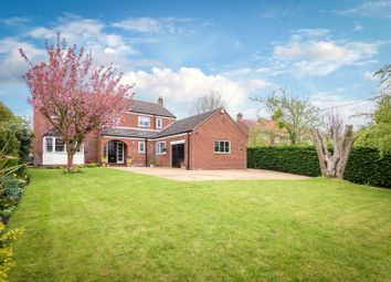 Thumbnail 6 bed detached house for sale in The Street, Hapton, Norwich