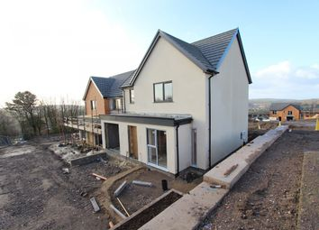 Thumbnail 4 bed detached house for sale in The Former Hillside Club, Tonyrefail -, Porth