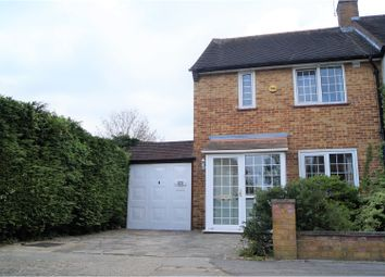Thumbnail 2 bed semi-detached house for sale in Leven Drive, Waltham Cross