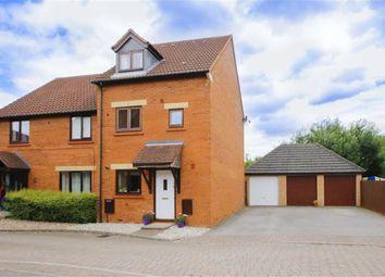 Thumbnail 4 bed semi-detached house for sale in Langport Crescent, Oakhill, Milton Keynes, Bucks