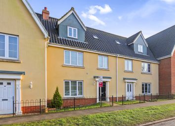 Thumbnail 4 bedroom terraced house for sale in The Butts, Kenninghall, Norwich