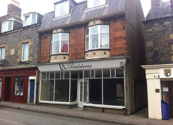 Thumbnail Retail premises for sale in 28 Island Street, Galashiels