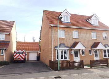 Thumbnail 4 bedroom semi-detached house for sale in Great Cornard, Sudbury, Suffolk