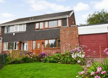 Thumbnail 3 bed semi-detached house for sale in Croft Drive, Tottington, Bury