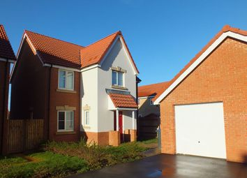 Thumbnail 4 bed detached house to rent in Hutton Close, Hilperton, Trowbridge
