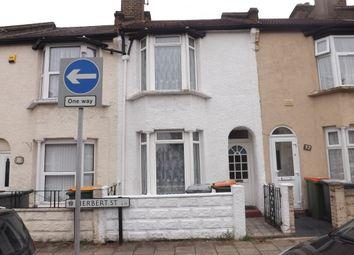 Thumbnail 3 bedroom terraced house for sale in Herbert Street, Plaistow, London