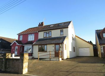 Thumbnail 5 bed semi-detached house for sale in Sandford Road, Winscombe
