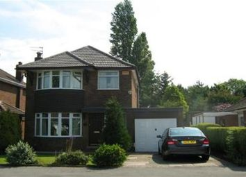 Thumbnail 3 bed property to rent in Silverdale Road, Gatley, Cheadle