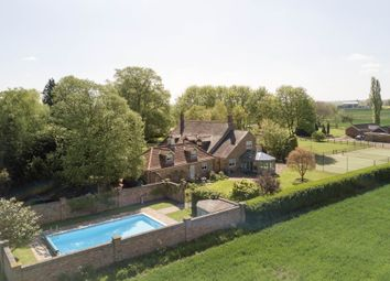 Thumbnail 5 bed detached house for sale in Lotts Bridge, Threeholes, Wisbech