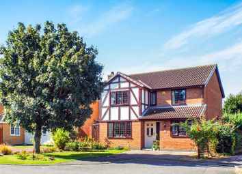 Thumbnail 4 bed detached house for sale in Coniston Close, Huntingdon