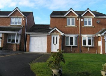 Thumbnail 2 bed semi-detached house to rent in Skylark Close, Hartlepool