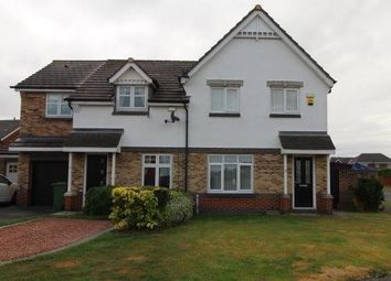 Thumbnail 3 bed semi-detached house to rent in Sandringham Drive, Blyth