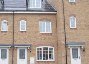 Thumbnail 3 bedroom town house for sale in Raleigh Close, Trent Vale, Stoke-On-Trent