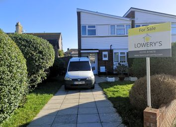 Thumbnail 3 bed end terrace house for sale in The Redan, Gosport