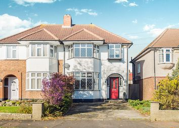 Thumbnail 3 bed semi-detached house for sale in Woodstock Avenue, Sutton