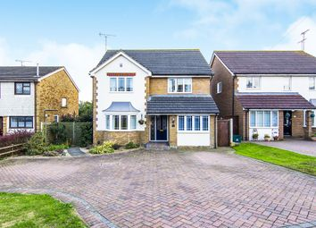 Thumbnail 4 bed detached house for sale in Brackendale Avenue, Pitsea, Basildon