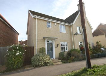Thumbnail 3 bed semi-detached house for sale in Townsend, Soham, Ely