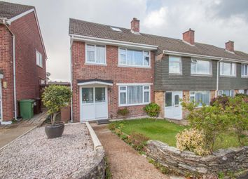 Thumbnail 3 bed end terrace house for sale in Beverston Way, Plymouth