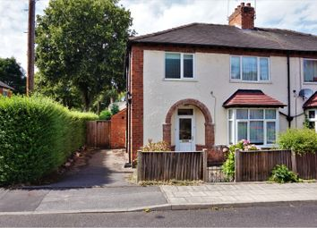 Thumbnail 3 bed semi-detached house for sale in Edgar Avenue, Mansfield