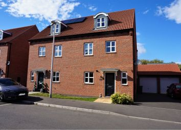 Thumbnail 4 bed semi-detached house for sale in Oyster Way, Warsop