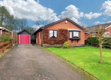 Thumbnail 2 bed detached bungalow for sale in The Meadow, Broughton Astley, Leicester