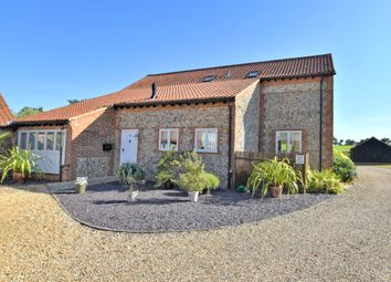 Thumbnail 3 bed barn conversion for sale in Back Lane, Roughton, Norwich