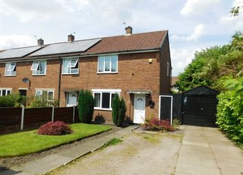 Thumbnail 2 bedroom end terrace house for sale in Dorking Close, Offerton, Stockport