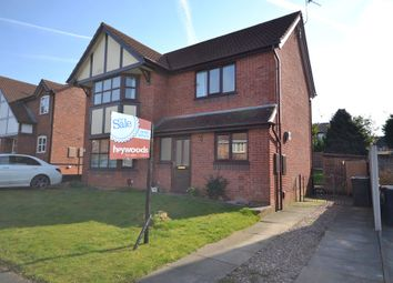 Thumbnail 2 bed semi-detached house for sale in Wroxham Way, Clayton, Newcastle-Under-Lyme