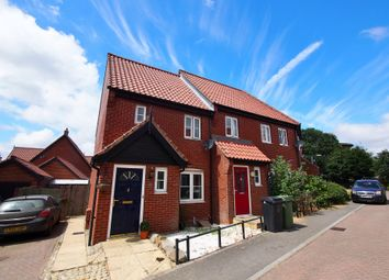 Thumbnail 2 bed end terrace house for sale in Wheeler Crescent, Easton, Norwich