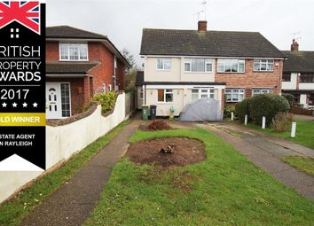 Thumbnail 3 bed semi-detached house for sale in Hambro Avenue, Extended Family Home, Rayleigh, Essex