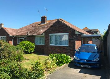 Thumbnail 2 bed bungalow for sale in Lincoln Avenue, Rose Green, Bognor Regis, West Sussex.