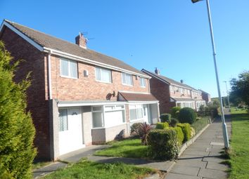 Thumbnail 3 bed semi-detached house to rent in Whitdale Avenue, Blyth