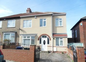 Thumbnail 5 bed semi-detached house for sale in Baxter Avenue, Newcastle Upon Tyne