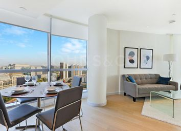 Thumbnail 1 bedroom flat to rent in Charrington Tower, Canary Wharf