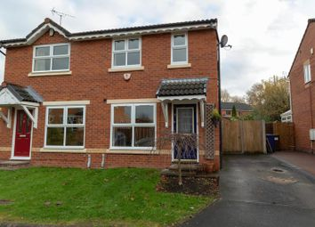 Thumbnail 2 bed semi-detached house to rent in Hedgerows Road, Leyland