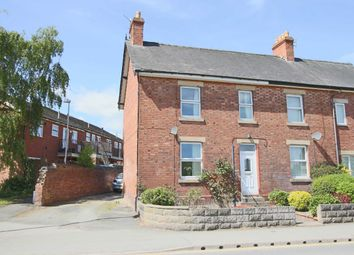 Thumbnail 3 bed semi-detached house for sale in Berriew Road, Welshpool, Powys