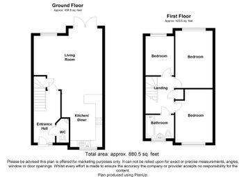 Thumbnail 2 bed semi-detached house for sale in Springwood Park, Staplehurst Road, Sittingbourne, Kent
