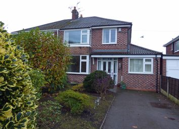 Thumbnail 4 bed semi-detached house for sale in Edale Close, Hazel Grove, Stockport