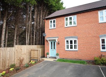 Thumbnail 3 bed semi-detached house for sale in Cascade Close, Burton-On-Trent
