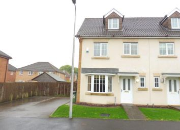 Thumbnail 4 bed town house to rent in Nant-Y-Ffron, Rhondda