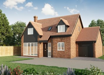 Thumbnail 3 bed detached house for sale in Main Road, Fleggburgh, Great Yarmouth