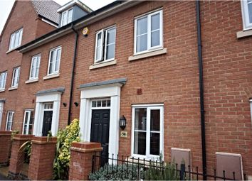 Thumbnail 4 bed town house to rent in Gold Furlong, Bedford