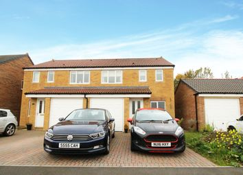 Thumbnail 3 bedroom semi-detached house for sale in Dixon Way, Coundon, Bishop Auckland