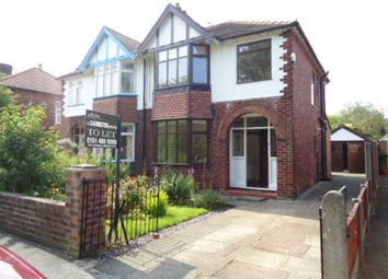 Thumbnail 3 bedroom semi-detached house to rent in Northcliffe Road, Offerton, Stockport