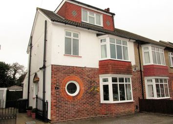Thumbnail 4 bed semi-detached house for sale in Oval Gardens, Gosport