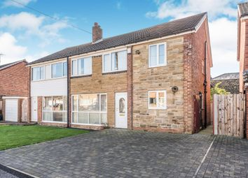Thumbnail 5 bed semi-detached house for sale in Syke Gardens, Tingley, Wakefield